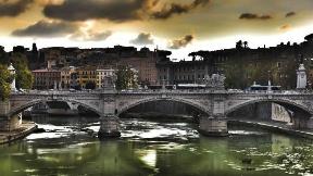 roma,şehir,hdr,nehir