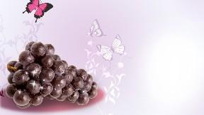 meyve,kelebek,üzüm