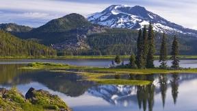 göl,dağ,doğa,kar