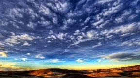 hdr,bulut,günbatımı,dağ,doğa