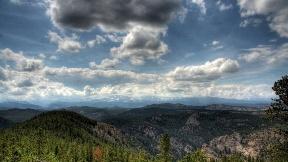 hdr,doğa,bulut,gökyüzü,dağ