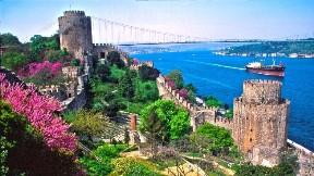 istanbul,şehir,deniz,köprü,rumeli hisarı