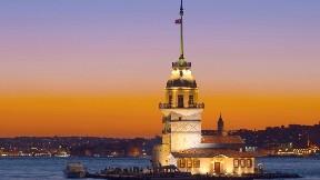 deniz,istanbul,şehir,kız kulesi