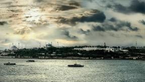istanbul,şehir,deniz,gökyüzü
