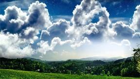 ağaç,doğa,gökyüzü,manzara,bulut