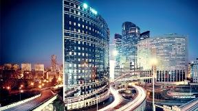 paris,şehir,bina,akşam