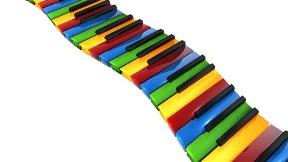 renkli,piyano