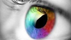 renkli,göz