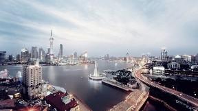 shanghai,yol,şehir,kule