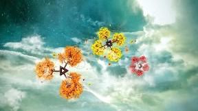 soyut,bulut,çiçek