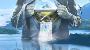 nehir,doğa,soyut,dağ,şelale