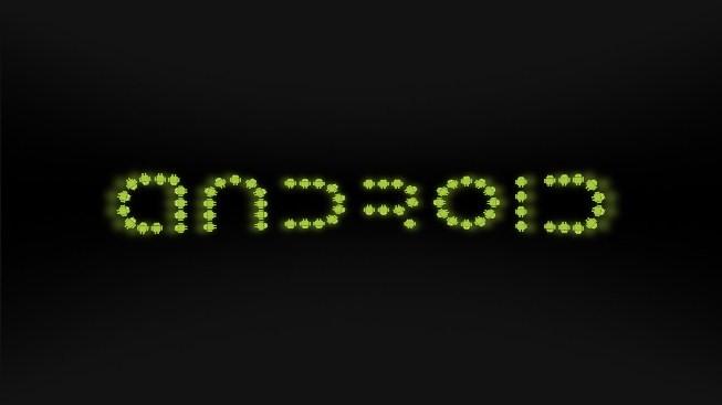 Logolarla Android Yazısı