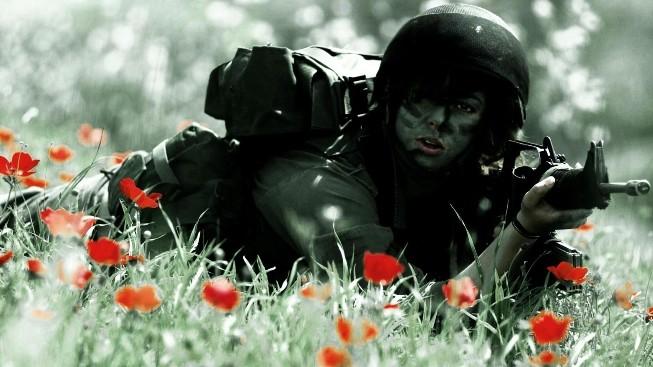Kadın Asker Duvar Kağıdı