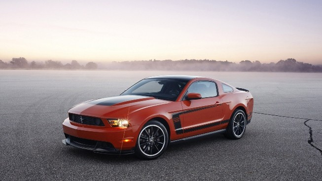 Mustang Boos 302 Laguna Seca Duvar Kağıdı
