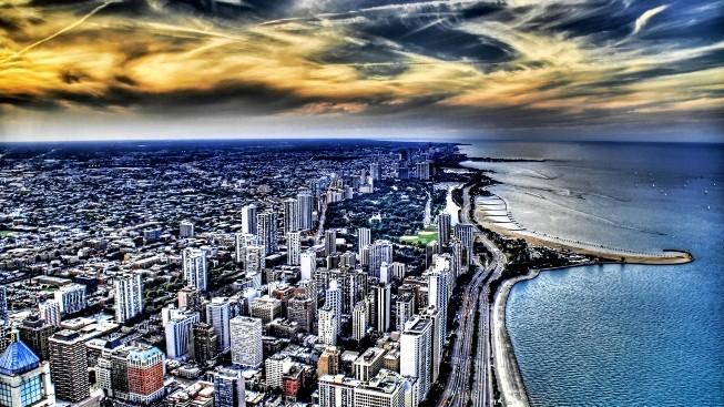 HDR Şehir Görüntüsü