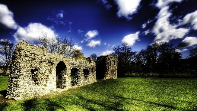 HDR Yıkılmış Duvar