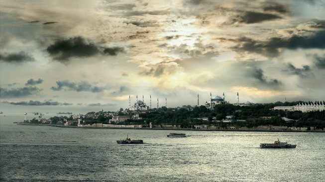 İstanbul Haliç, Ayasofya ve Sultan Ahmet
