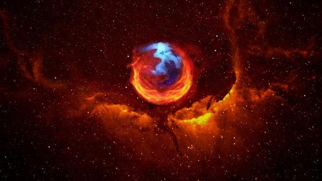 Mozilla Firefox Yıldızlar İçinde