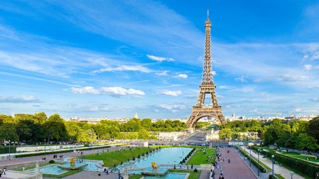 Paris Eyfel Kulesi Duvar Kağıdı