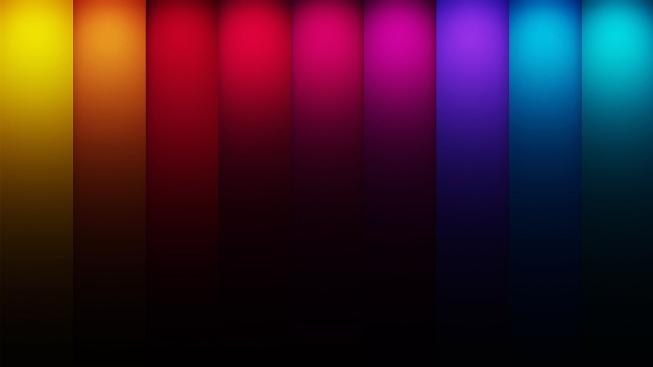 Renk Çubukları Duvar Kağıdı