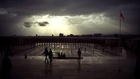 ankara,şehir,anıtkabir,gökyüzü,bulut