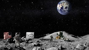astronot,fwa,uzay,dünya,ay,yıldız