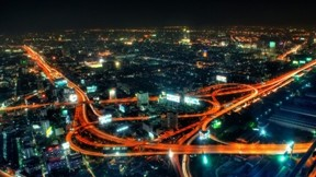 bangkok,şehir,tayland,gece