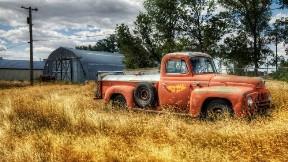 eski,doğa,araba