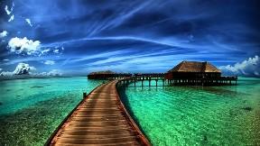 deniz,hdr,gökyüzü