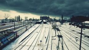 istanbul,haydarpaşa,kış,kar,şehir,tren