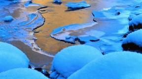 buz,kış,nehir,kar