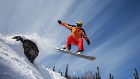 snowboard,gökyüzü,kar,doğa