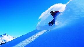 snowboard,gökyüzü,kar,doğa,güneş
