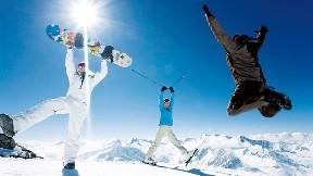 snowboard,dağ,kar,güneş,kayak