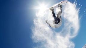 snowboard,kar,güneş,gökyüzü