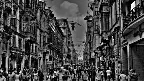 taksim,istanbul,şehir,hdr