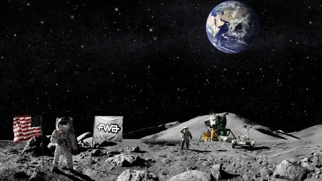 Astronot ve FWA Duvar Kağıdı