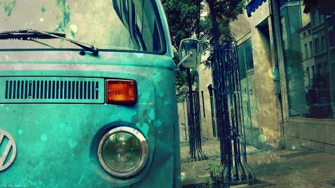 Eski Volkswagen Duvar Kağıdı