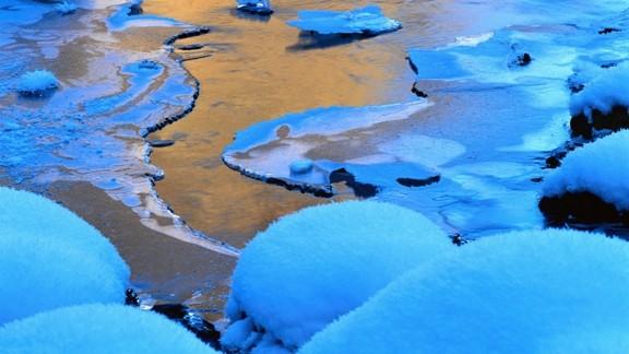 Buz Tutmuş Nehir