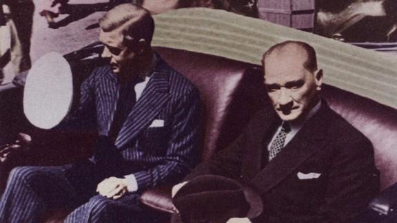 Mustafa Kemal Atatürk ve Kral Edward IV