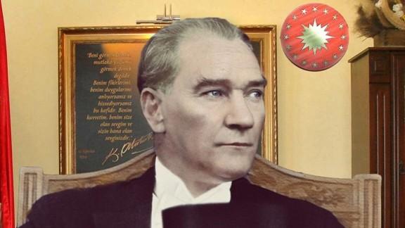 1. Cumhurbaşkanı Mustafa Kemal Atatürk