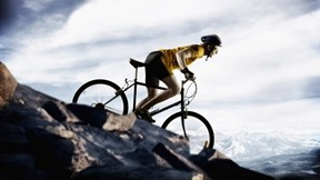 bisiklet,dağ,yarış,gökyüzü,bulut