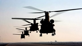 boeing,chinook,helikopter,askeri taşıt,günbatımı,asker