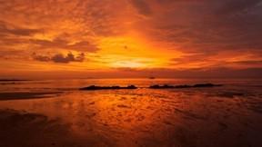 doğa,plaj,deniz,günbatımı