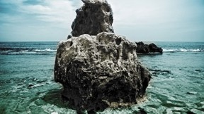 doğa,plaj,deniz,kaya,gökyüzü