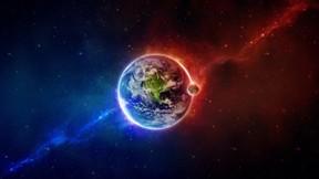 uzay,dünya,ay,soyut