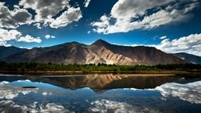 dağ,doğa,hdr,göl,bulut,gökyüzü,orman
