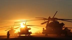 helikopter,askeri taşıt,günbatımı