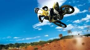 motocross,gökyüzü,motor,yarış