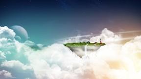 soyut,bulut,ütopya,toprak